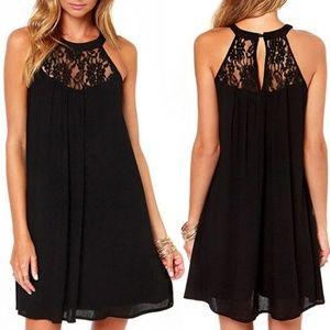 Dresses & Skirts - Sleeveless Chiffon dress black